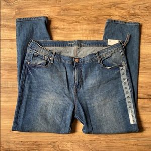 Old navy mid-rise original straight leg jeans NWT